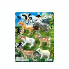 Набор Farm Animal - Домашние животные, 6 фигурок
