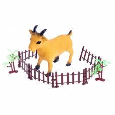 Животное «Коза», с аксессуарами Sima-Land