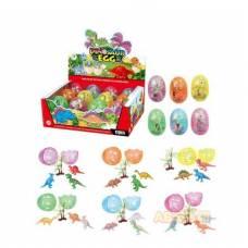 Набор динозавров в яйце. 12 шт. Junfa Toys