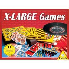 Набор игр X-Large Games (200 игр + шахматы + рулетка) Piatnik
