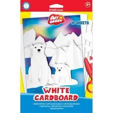 Белый картон Artberry, формат B5, 10 листов Erich Krause