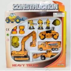 Набор металлической технки Pro-Engin, 11 предметов  Pioneer Toys