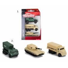 Игровой набор военных машинок, 3 шт. Majorette