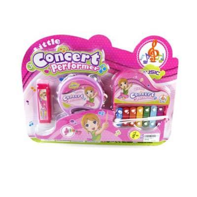 Набор детских музыкальных инструментов Concert Performer, 3 предмета Shantou
