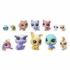 Набор из 12 счастливых петов Littlest Pet Shop - Капкейки Hasbro