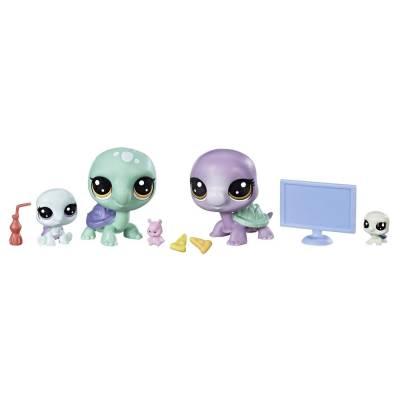 Игровой набор Littlest Pet Shop - Черепашки Hasbro