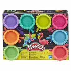 Набор пластилина Play-Doh - Неон, 8 цветов Hasbro