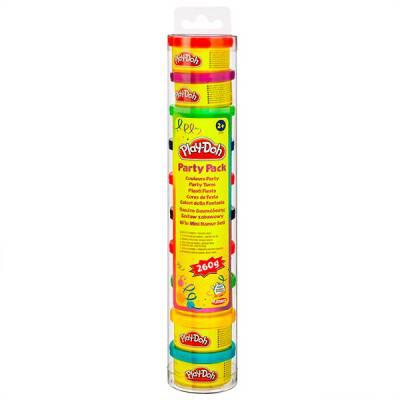 Тубус с 10 мини-баночками пластилина Play Doh Hasbro