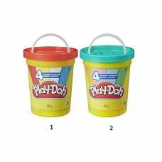 Набор пластилина Play-Doh в большой банке, 4 цвета Hasbro