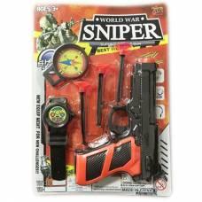 Игровой набор Sniper, 6 предметов