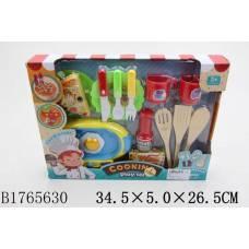 Набор посуды Cooking с продуктами Shantou