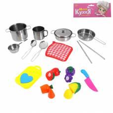 Набор металлической посуды