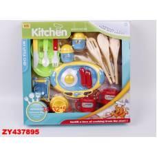 Набор посуды Kitchen с продуктами Shantou