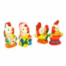 Набор из 4 резиновых игрушек