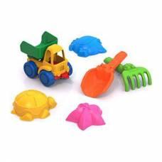 Набор для игры в песочнице №41 с машинкой-самосвалом - №2 Нордпласт