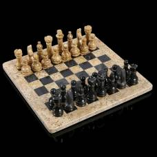 Шахматы «Элит»,  доска 30х30 см, оникс Sima-Land