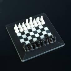 Шахматы «Элит», доска 20х20 см, оникс Вид 2, Sima-Land