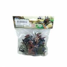 Игровой набор из 30 фигурок солдатиков Military Junfa Toys