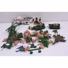 Набор солдатиков с военной техникой