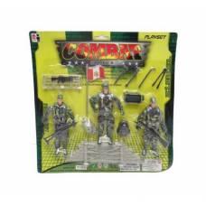 Игровой набор Combat Soldier, 16 предметов