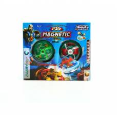 Пластиковая игрушка-юла Olympos Vs Alien - Magnetic, 2 шт.  Shenzhen Toys