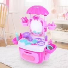 Игровой набор «Столик для маленький модницы» с аксессуарами, световые и звуковые эффекты Sima-Land