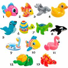 Надувная игрушка Puff'n Play, 27 х 10 см Intex