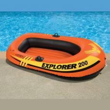 Надувная лодка Explorer 200 Intex