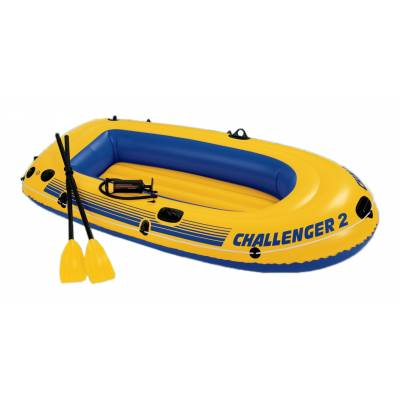 Надувная лодка Challenger-2 Intex