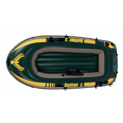 Двухместная надувная лодка Seahawk 2 Intex