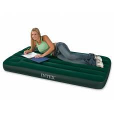 Надувная односпальная кровать Intex