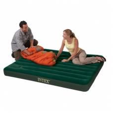 Надувной матрас-кровать Intex, встроенный насос Intex