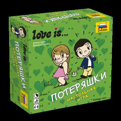Настольная игра Love is - Потеряшки Звезда