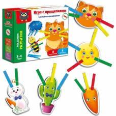 Игра с прищепками «Смешная компания» Vladi Toys