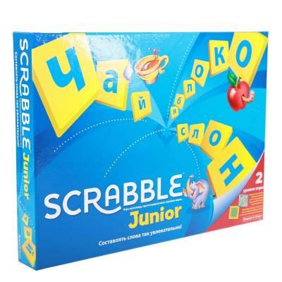 Настольная игра Scrabble Junior (обновленная русская версия) Mattel
