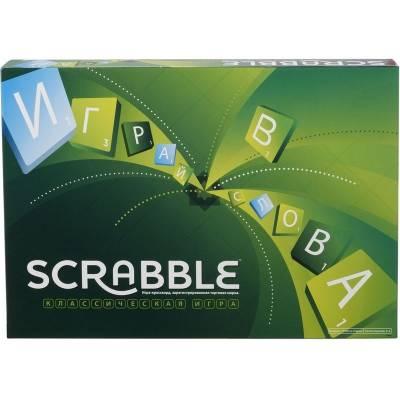 Настольная игра Scrabble - Классическая версия Mattel