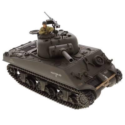 Танк р/у US M4A3 Sherman (на бат., звук, свет, стреляет), 1:24 VSP