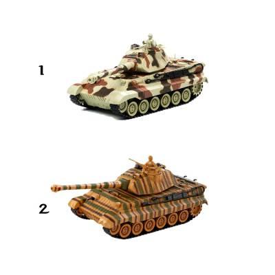 Боевой танк р/у King Tiger (на аккум., свет, звук), 1:28 Пламенный мотор