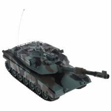 Боевой танк р/у Abrams M1A2 (свет, звук), 1:28 Пламенный мотор