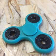 Флуоресцентный спиннер для рук, голубой