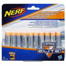 Набор деко-стрел для бластера Nerf - Elite, серые, 10 штук Hasbro