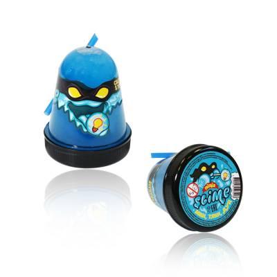 Лизун Ninja Slime (светится в темноте), синий, 130 гр. Волшебный мир