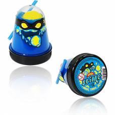 Лизун Ninja Slime 2 в 1, синий и желтый, 130 гр. Волшебный мир