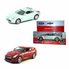Коллекционная модель автомобиля Nissan GT-R, 1:34-39 Welly
