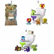 Игровой набор Flush Force - Унитаз с 5 фигурками, 1 серия Spin Master