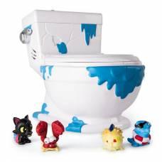 Игровой набор Flush Force - Туалет-коллектор с 4 фигурками-сюрпризами (звук) Spin Master