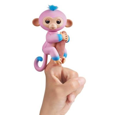 Интерактивная ручная обезьянка Fingerlings - Кэнди WowWee