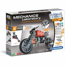 Конструктор Mechanics Laboratory - Родстер и Драгстер Clementoni