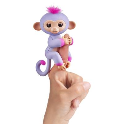 Интерактивная ручная обезьянка Fingerlings - Сидней WowWee