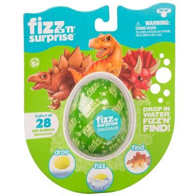 Игрушка-сюрприз Fizz'n Surprise - Шипучее яйцо с фигуркой динозавра Moose